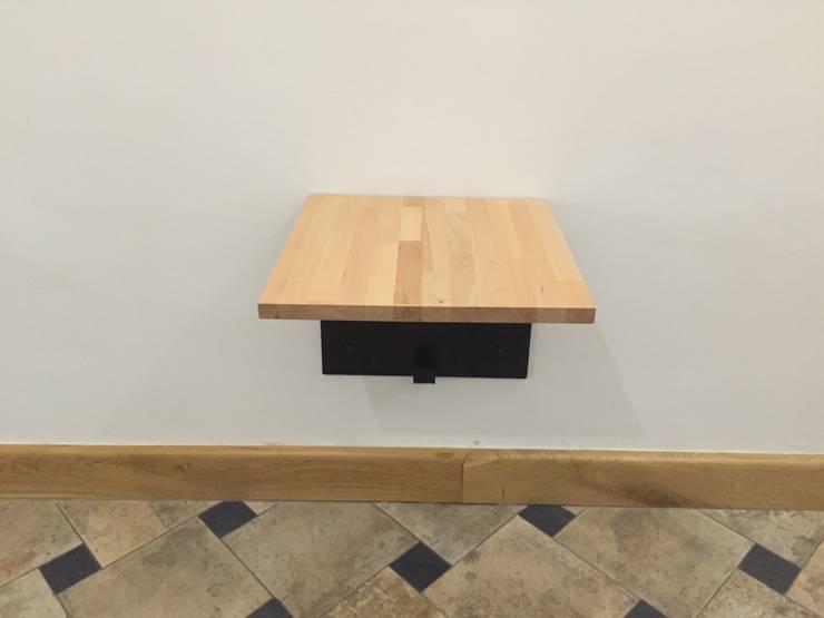 stolik: styl , w kategorii  zaprojektowany przez CHOLUJ DESIGN s.c.    / ROKKI design,Nowoczesny Drewno O efekcie drewna