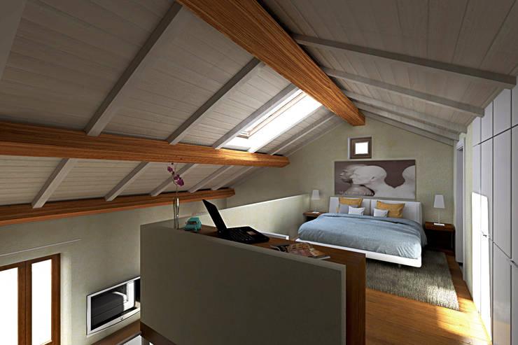 Bedroom by AAA Architettura e Design