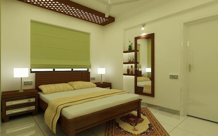 Project at Elita Promenade:  Bedroom by ACE INTERIORS