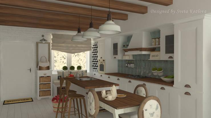 modern Kitchen by Дизайнер КОЗЛОВА СВЕТЛАНА