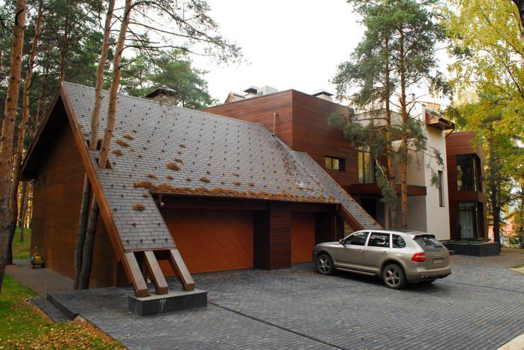 Projekty,  Domy zaprojektowane przez Армен Мелконян