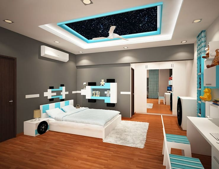 4 bedroom Villa at Prestige Glenwood:  Bedroom by ACE INTERIORS