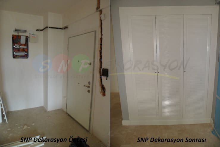 SNP DEKORASYON – Öncesi ve sonrası değişimler:  tarz