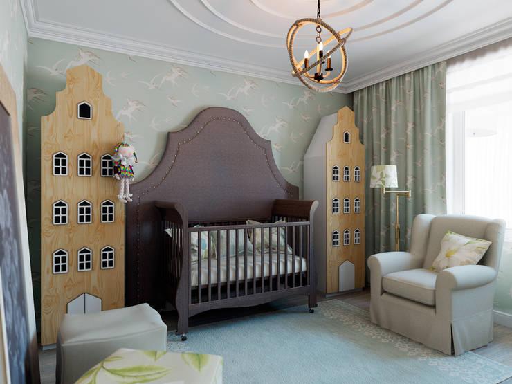 ЖК Микрогород в лесу: Детские комнаты в . Автор – TrioDesign