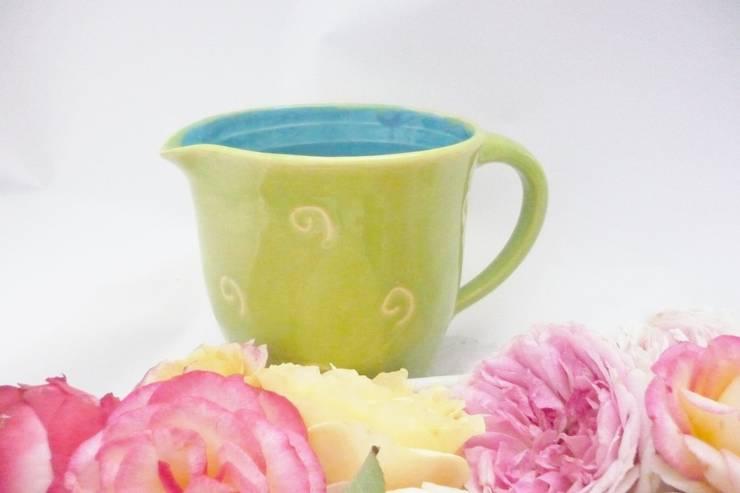Milchkrug:  Esszimmer von Ingrid-Keramik