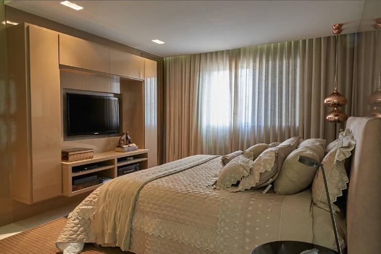 Apartamento AP: Quartos  por Gláucia Britto