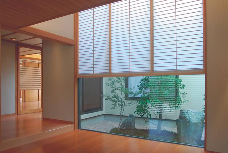 Dwelling – 新築Ty住宅: 杵村建築設計事務所が手掛けた和室です。