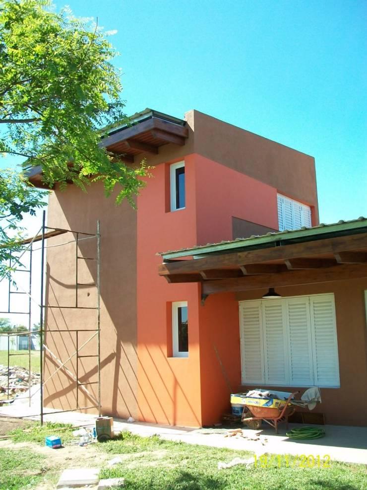 Vivienda Unifamiliar R+B: Casas de estilo  por BBADM estudio de arq