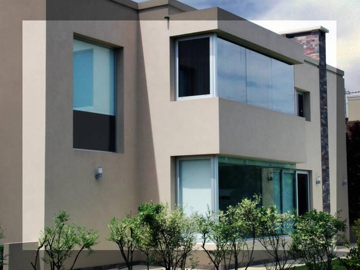 Trabajos realizados: Casas de estilo  por ArquiGlass
