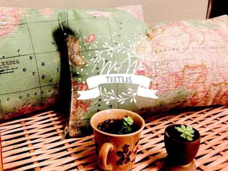 Textiles para el hogar: Hogar de estilo  por Mi Malenka