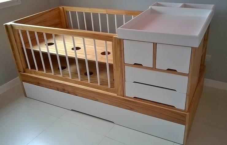 scandinavian Nursery/kid's room by möbele