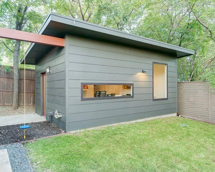 Construcción en Seco Casas modernas: Ideas, imágenes y decoración de del pilar casa Moderno