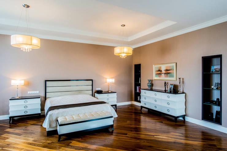 Спальня: Спальни в . Автор – LUXER DESIGN