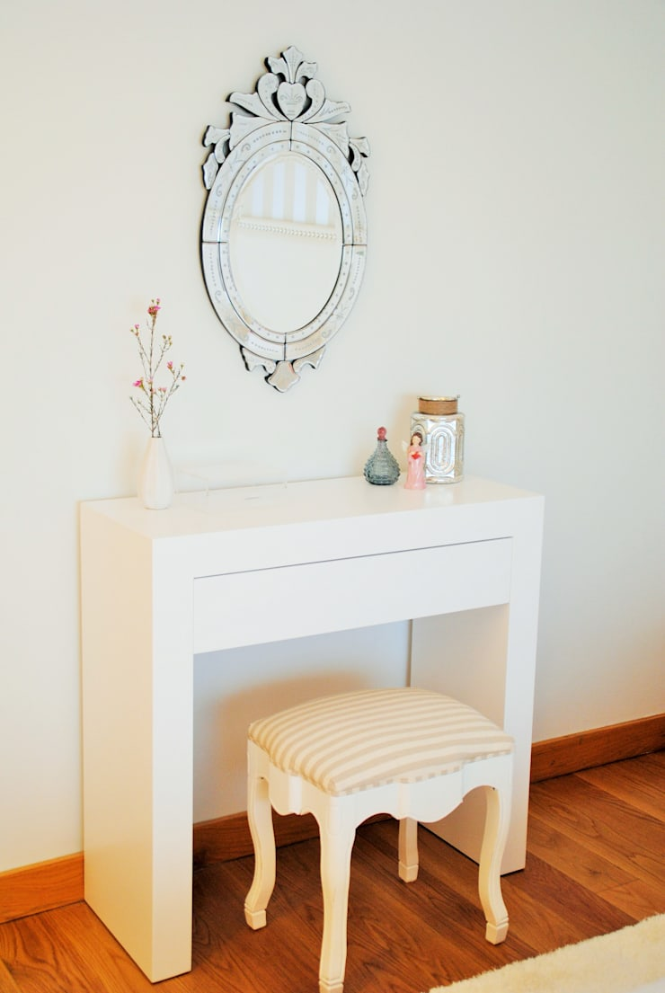 Suite Love – Decoração de Quarto: Quartos  por White Glam