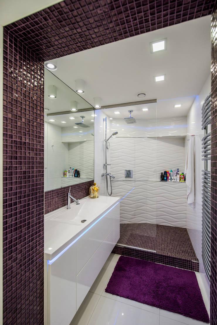 Квартира Командира воздушного судна Ванная комната в стиле минимализм от LUXER DESIGN Минимализм