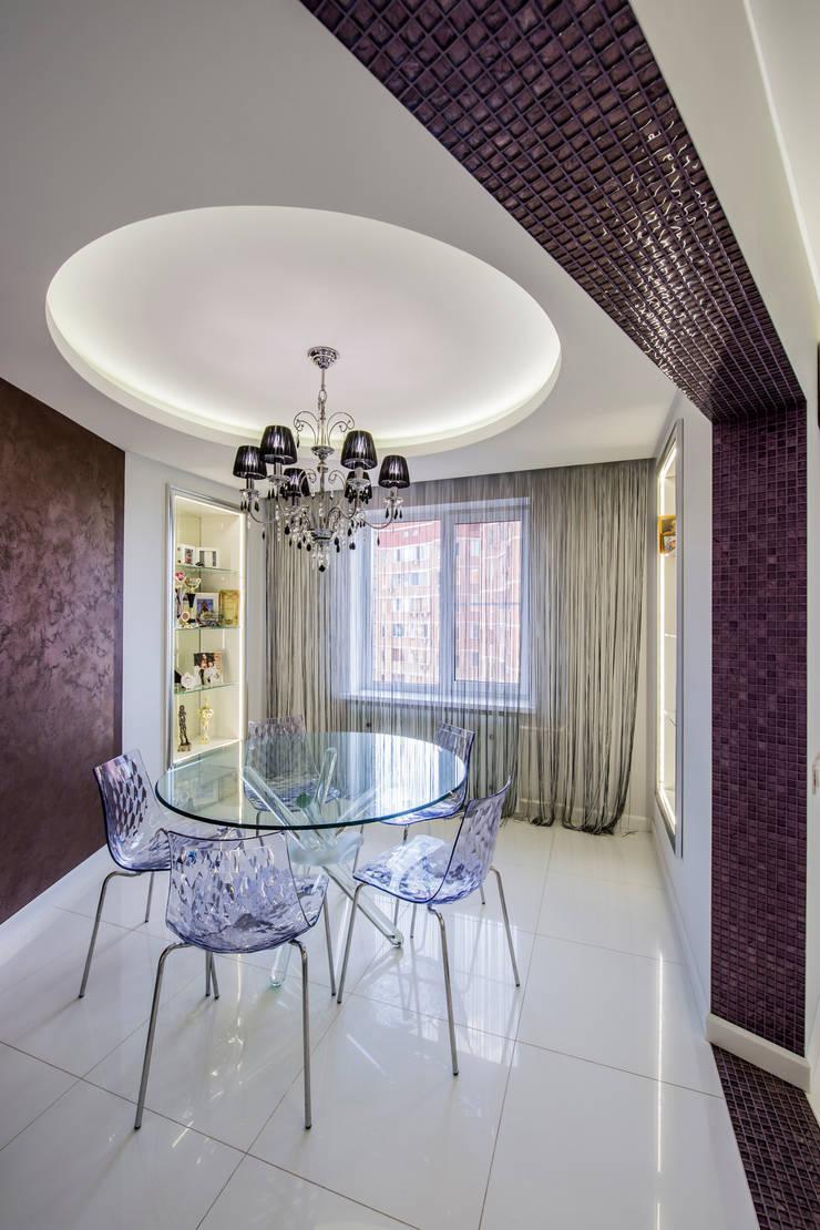 Квартира Командира воздушного судна Кухня в стиле минимализм от LUXER DESIGN Минимализм