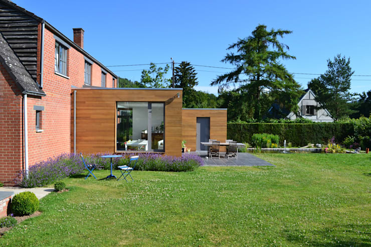 Giardino d'inverno in stile  di Wilmotte Architecte