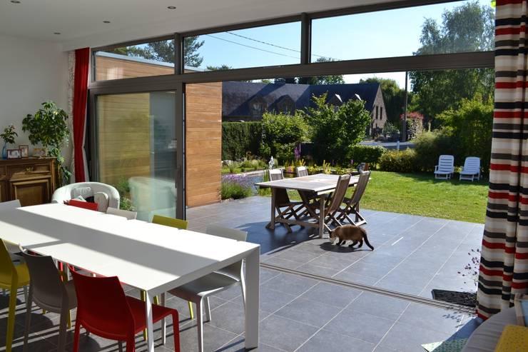 بيت زجاجي تنفيذ Wilmotte Architecte