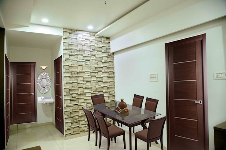 Dining Room: modern Dining room by ZEAL Arch Designs