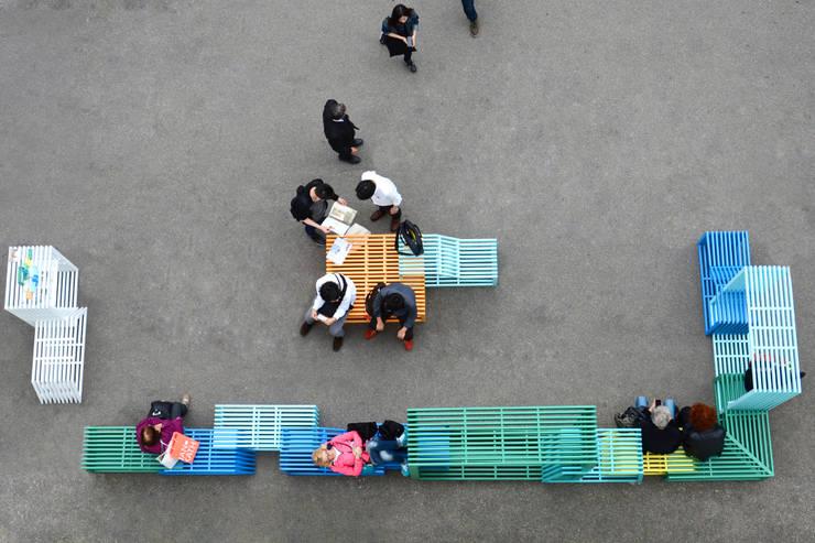 Intersections:  Tuin door Studio Izabela Bołoz