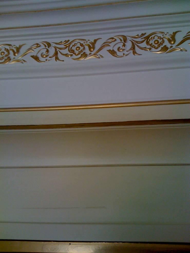 Квартира в Москве.: Спальная комната  в . Автор – Художник декоратор