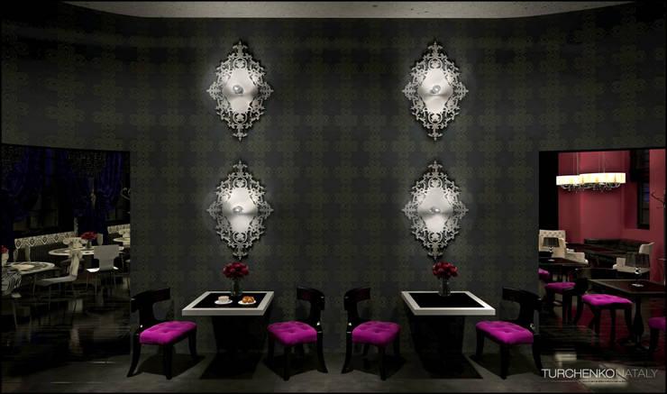 Дизайн ресторана DE MARCO Бары и клубы в эклектичном стиле от TUR4ENKONATALY design space Эклектичный