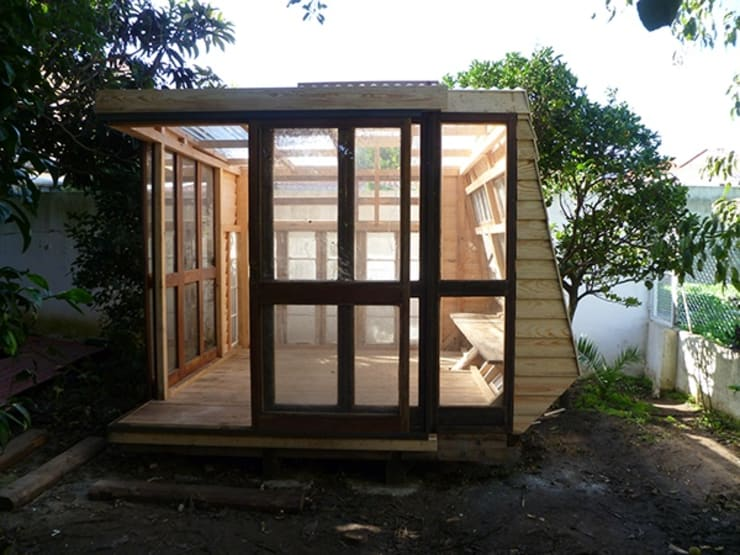 Winter house: Jardins de Inverno  por Tomaz Viana Designermaker