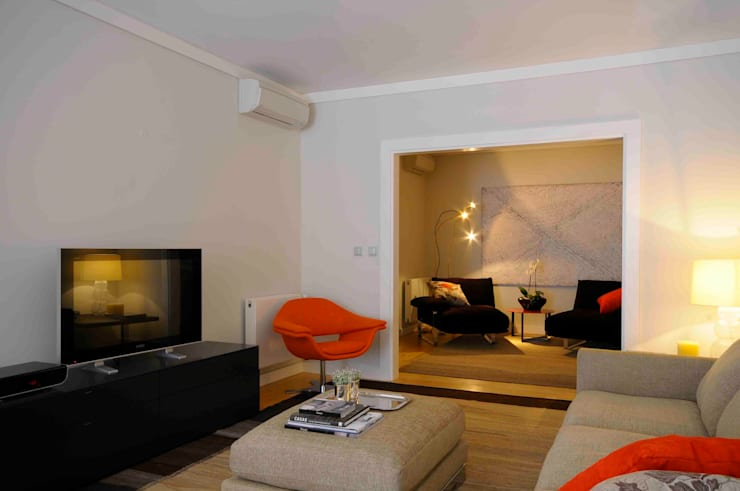 Espaço de Lazer : Salas de estar  por armazem de arquitectura