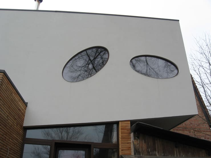 Maison basse énergie Bruxelles: Maisons de style  par Metaforma Architettura