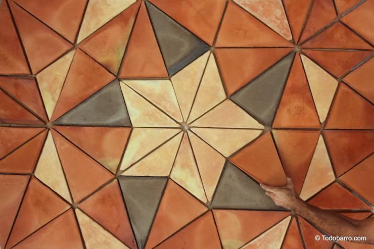 Walls & flooring by Todobarro,