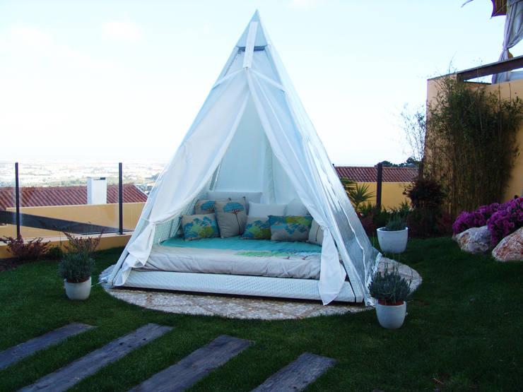 Piramidal: Jardim  por Piramidal