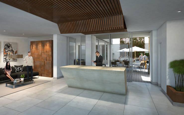 Lobby: Salas de estilo  por MIES GROUP