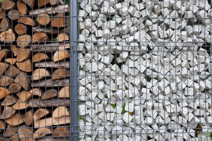 Projekt wnętrz domu w Białołęce: styl , w kategorii Ogród zaprojektowany przez mech.build,Skandynawski