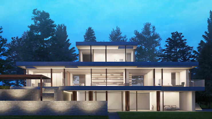 Maisons de style  par SALA VISCOM, Moderne