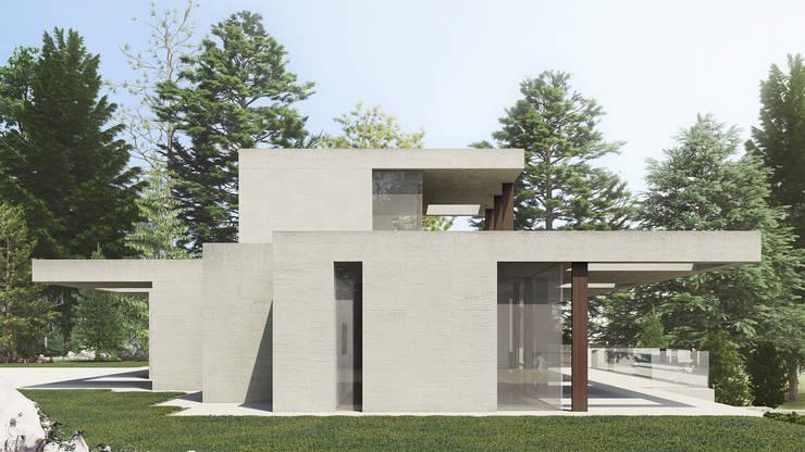 Maisons de style  par SALA VISCOM, Moderne Béton