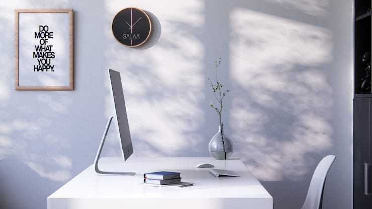 Home Office: Estudios y despachos de estilo moderno de SALAArchitects