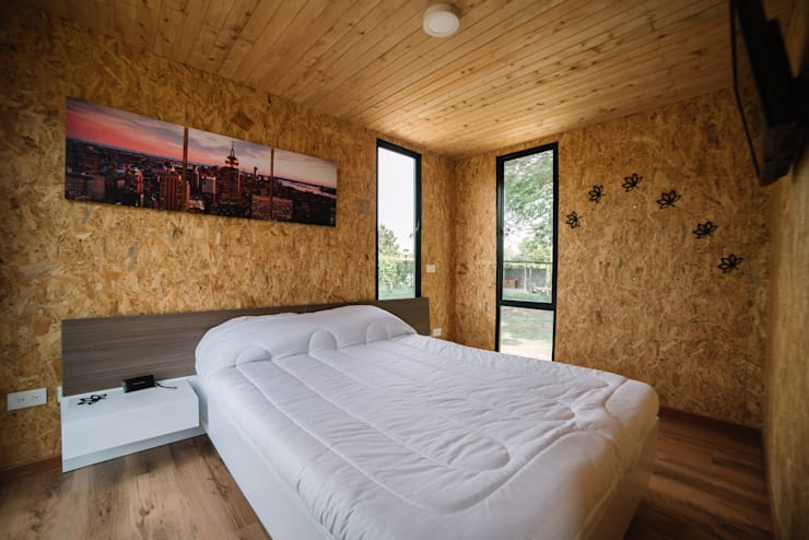 VIMOB: Habitaciones de estilo  por COLECTIVO CREATIVO