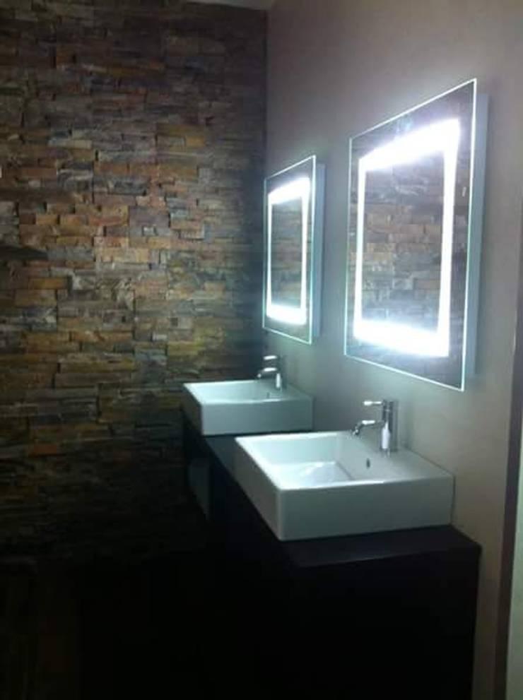 CASA IBI: Baños de estilo  de IC & AIR ·Arquitectura ·Interiorismo ·Reformas