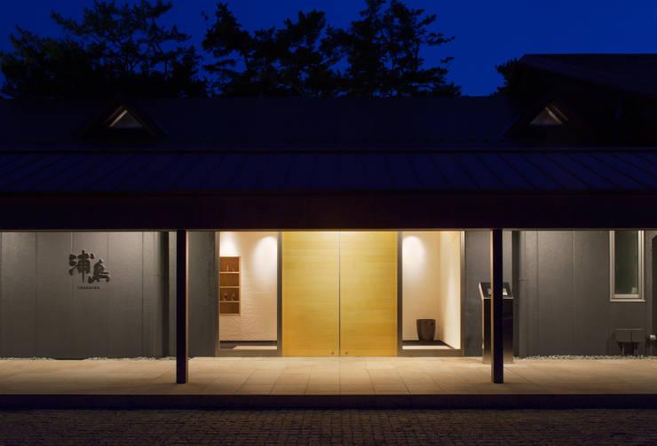 浦島東館: 原口剛建築設計事務所が手掛けた家です。,