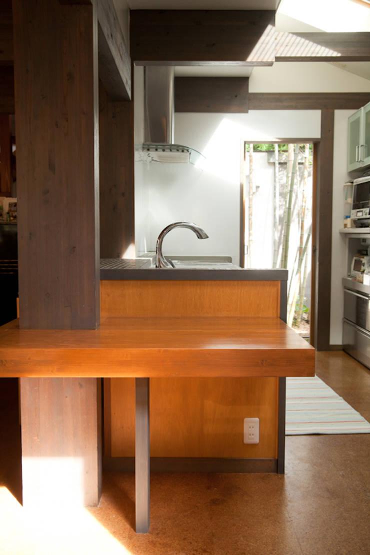 西宮市S様邸: デザインスタジオ グランキューブが手掛けたキッチンです。