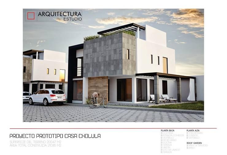 Otros proyectos: Casas de estilo  por Arquitectura Estudio