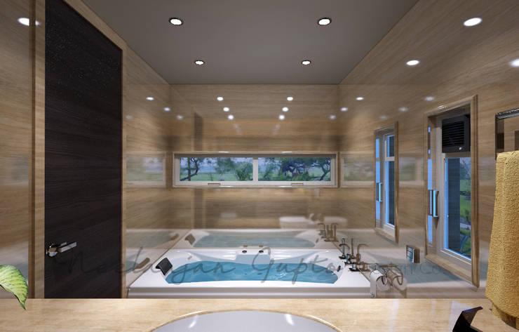 Nisar's bungalow:  Bathroom by Neelanjan Gupto Design Co