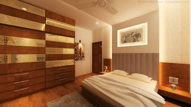 Interiors:  Bedroom by MAVERICK Architects