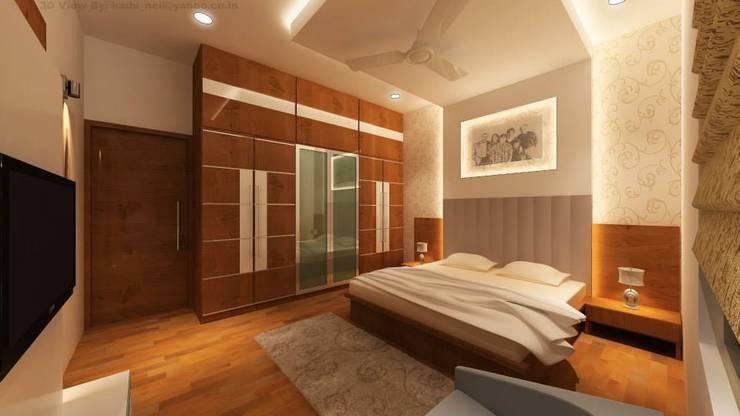 Projekty,  Sypialnia zaprojektowane przez MAVERICK Architects