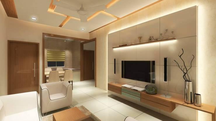 Interiors: modern Living room by MAVERICK Architects