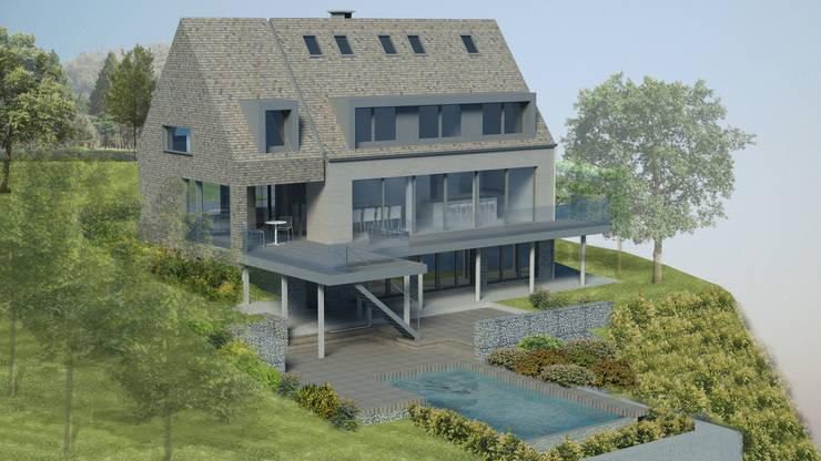 Transformation d'une habitation:  de style  par BURO 5 architectes et associés