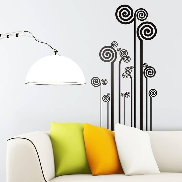 Vinilos decorativos TeleAdhesivoが手掛けた壁&床