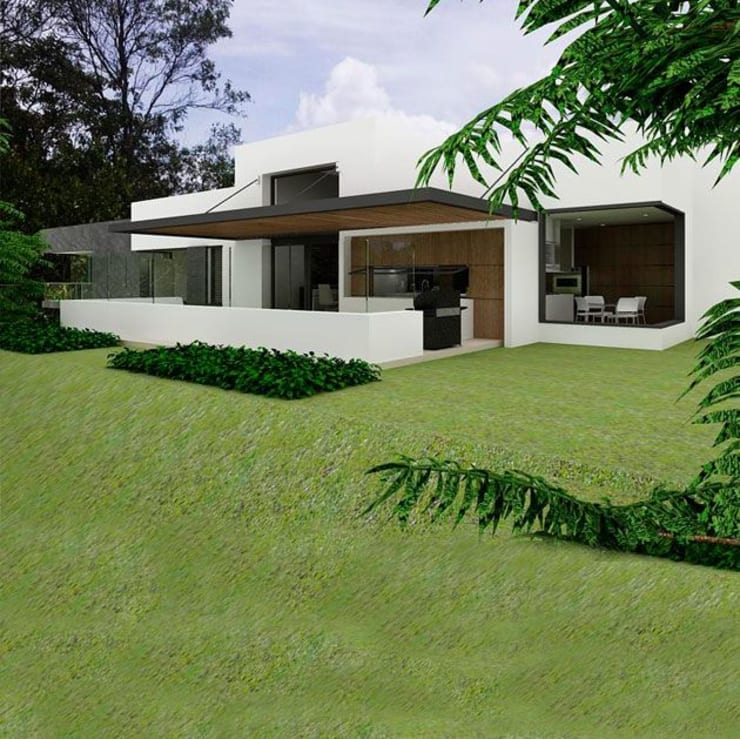 Casa la Unión: Casas de estilo  por FR ARQUITECTURA SAS, Clásico