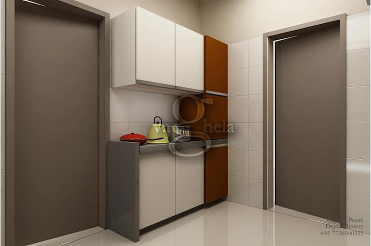 Kitchen:  Kitchen by Vaghela interiors