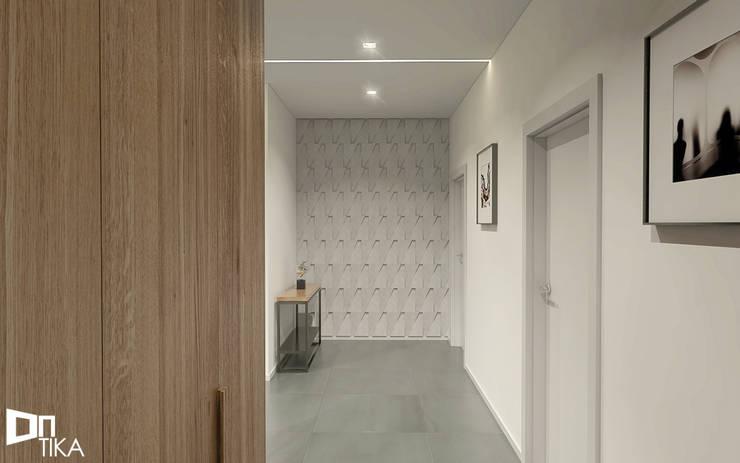 Hol: styl , w kategorii Korytarz, przedpokój zaprojektowany przez TIKA DESIGN,Nowoczesny Beton